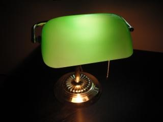 Green Desklamp